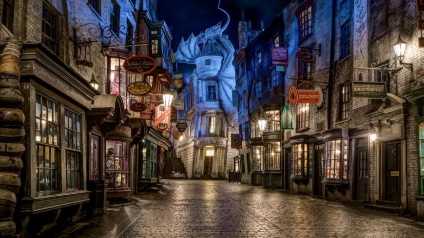Wish you were here in The Wizarding World of Harry Potter?