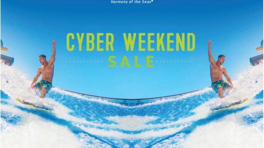 Royal Caribbean Cyber Weekend Sale!!!