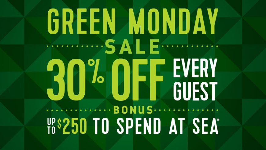 Royal Caribbean's Green Monday Sale!
