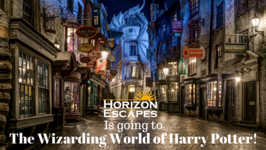 We are going to The Wizarding World of Harry Potter!