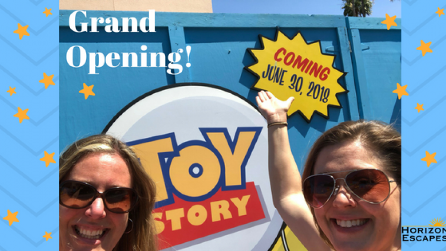Toy Story Land Grand Opening!!