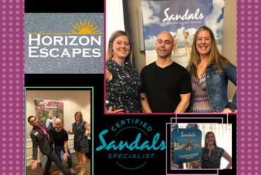 Meet our Sandals Certified Specialists!